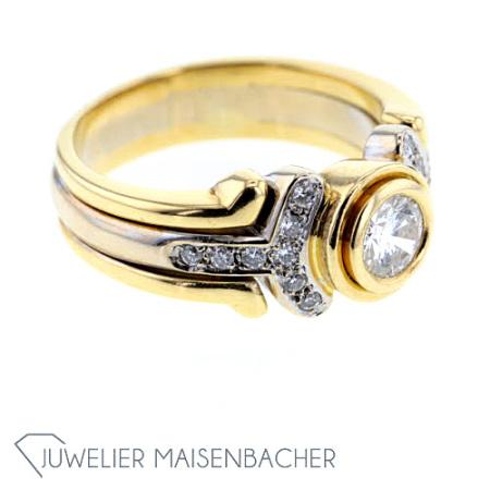 massiver diamant ring ringgr e 59 jetzt online kaufen. Black Bedroom Furniture Sets. Home Design Ideas